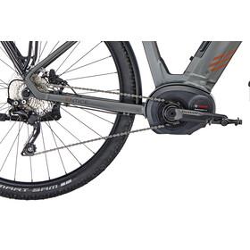 Kalkhoff Entice 5.B Tour Bicicletta elettrica da trekking Wave 500Wh grigio